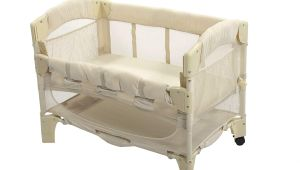 Half Crib that attaches to Bed Amazon Com Arm S Reach Euro Mini Arc Co Sleeper Bedside Bassinet