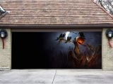 Halloween Garage Door Covers 3d Garage Door Covers Banner Halloween Decor Pumpkin