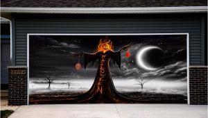 Halloween Garage Door Covers Garage Door Covers Halloween Decor Outdoor House