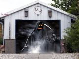 Halloween Garage Door Covers Halloween Decor Single Garage Door Covers 3d Banner