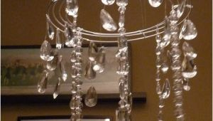 Hobby Lobby Crystals for Chandelier the Happy Homebodies Tutorial Diy Faux Crystal Chandelier