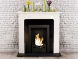 How Does An Ethanol Fireplace Work Carrington Cream Traditional Bio Ethanol Fireplace Bio