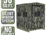 How to Lower Blinds with 3 Strings Shadow Hunter 5 Ft X 6 Ft Insulated Gun and Crossbow Hunting Blind
