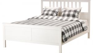 Ikea Adjustable Slatted Bed Base Review Hemnes Bed Frame Queen Black Brown Ikea