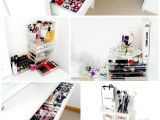 Ikea Alex 9 Drawers Dupe Makeup and Beauty Storage Ikea Malm Dressing Table Muji Acrylic