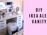 Ikea Alex Drawer Desk Dupe Diy Ikea Alex Vanity Blushing In Hollywood
