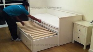 Ikea Hemnes Day Bed Bed Instructions Ikea Hemnes Day Trundle Bed with 3 Drawers White No Place Like