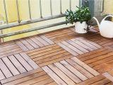 Ikea Runnen Decking Reviews Balkon Bodenbelag Baby 8 Holzfliesen Je 50×50 Cm 2 Ma Holzfliese