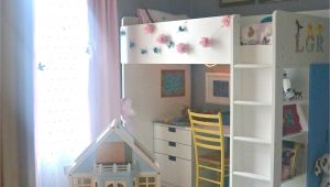 Ikea Stuva Loft Bed Hack Awesome Idea for My Older Daughter Maybe Remove the Desk and Put My