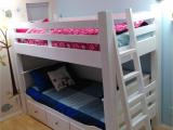 Ikea Stuva Loft Bed Hack Custom Loft Bed Built to Wrap the Ikea Hemnes Daybed Kids Room