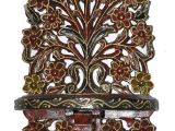 Indian Carved Wood Wall Art Indian Wooden Wall Shelf Vintage Shelves Hand Carved