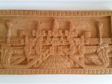 Indian Carved Wood Wall Art Vintage Carved Wood India Temple Wall Decor Wood Wall Art
