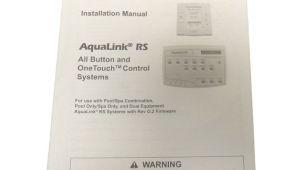 Jandy Aqualink Rs Owner S Manual Jandy Installation Owner 39 S Manual Aqualink Rs Onetouch All