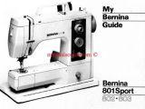 Janome Sewing Machine Model 802 Manual Free Download Bernina 801 802 803 Sport Sewing Machine Instruction