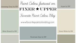 Joanna Gaines Paint Colors Matched to Behr Farmhouse Paint Color Palettes Favorite Paint Colors Remodels