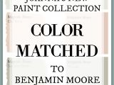 Joanna Gaines Paint Colors Matched to Benjamin Moore Fixer Upper Paint Colors Magnolia Home Paint Color Matched to