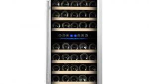 Kalamera 73 Bottle Wine Cooler Reviews Kalamera 73 Bottle Dual Zone Freestanding Wine