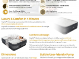 King Koil Full Size Luxury Raised Air Mattress Amazon Com King Koil Queen Size Luxury Raised Air