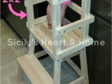 Kitchen Helper Stool Ikea Diy Learning tower toddlers and Preschoolers Pinterest