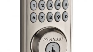 Kwikset Smartcode Delete Code Kwikset Smartcode 914 Series Zigbee Deadbolt with Home Connect