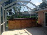 Lanai Enclosures Naples Fl Hot Tub Patio Enclosure In Naples area Fl Screens