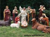 Large Outdoor Nativity Sets Hobby Lobby 39 Quot Large Scale Fiberglass Nativity Set Free Shipping On now