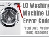 Lg Washing Machine Le Error Lg Washing Machine Le Error Code Front Load Washer