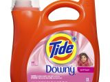 Liquid Downy Fabric softener Dog Urine Tide Liquid Laundry Detergent with A touch Of Downy April Fresh 89