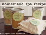 Living Well Spending Less Blog Planner 4 Easy Diy Homemade Spa Treatments Living Well Spending Lessa