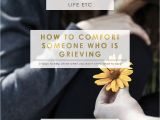 Living Well Spending Less Holiday Planner 5 Ways to Comfort someone who is Grieving Living Well Spending Less