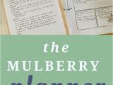 Living Well Spending Less Homeschool Planner Homeschool Basics Archives the Mulberry Journal