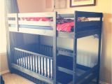 Loft Bed with Crib Underneath toddler Bunk Beds Ikea Woodworking Projects Plans
