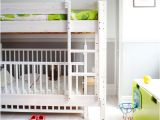 Loft Bunk Bed with Crib Underneath 5 Cool Kids Bedrooms with A toddler Bed and A Crib