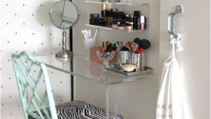 Makeup Vanity Ideas for Small Spaces Chambre Le Blog De Blondie Beauty Un Blog Beaute