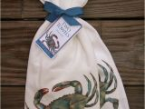Mary Lake Thompson Flour Sack towels Mary Lake Thompson Flour Sack towels Set Of 2 Blue Crab