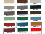 Mcelroy Metal Color Chart H H Sheet Metal Color Charts
