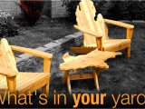 Michigan Shaped Adirondack Chairs What 39 S In Your Yard Mad Chairs