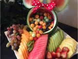 Mickey Mouse Fruit Tray Carved Watermelon Ideas the Idea Room