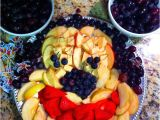 Mickey Mouse Shaped Fruit Tray Mickey Mouse Fruit Tray Could Do This with Veggies