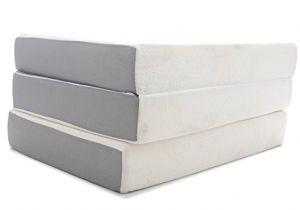 Milliard 6-inch Memory Foam Tri-fold Mattress Full Milliard 6 Inch Memory Foam Tri Fold Mattress with Ultra