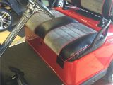 Mining Cart for Sale Custom Red Grey Black Golf Cart Upholstery Custom Golf Cart