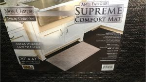 Mon Chateau Luxury Collection Anti Fatigue Comfort Mat May 2017 Costco Weekender