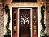 Monogram C for Front Door Mind Blowing Front Door Monogram Letters Front Doors