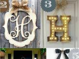 Monogram Front Door Decoration 36 Creative Front Door Decor Ideas Not A Wreath