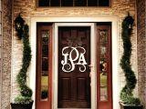 Monogram Initials for Front Door Mind Blowing Front Door Monogram Letters Front Doors