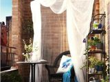 Mosquito Netting for Apartment Balcony Design Inspiration Small Apartment Balconies Paperblog