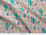 Mudcloth Print Fabric by the Yard Amazon Com Spoonflower Cactus Fabric Cactus Botanical Cacti
