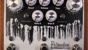 Music Store In Watertown Ny Earthquaker Devices Palisades V2 Mega Ultimate Overdrive Guitar