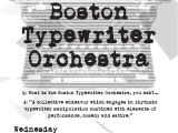 Music Stores Near Watertown Ny Boston Typewriter orchestra Charles River Museum