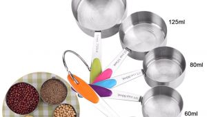 Name Of Measuring tools In Baking Us 4 91 41 Off Stainless Steel Measuring Cup Kitchen Measuring Spoons Scoop for Baking Sugar Coffee Measuring tools Sets In Measuring Spoons From